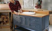 DIY: Make Your Own Bathroom Vanity with Easiest and ...