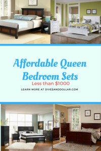 Stylish and Affordable Queen Bedroom Set Under $1,000 on ...