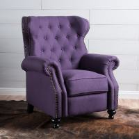 Best Selling Luxurious Purple Accent Chairs Living Room On ...