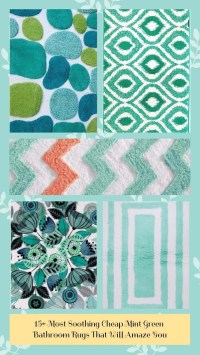 15 Most Soothing Mint Green Bathroom Rugs That Will Amaze You