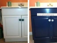 20+ Smartest Ways of Painting Bathroom Vanity Before And After