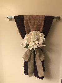 25+ Creatively Easy Decorative Towels For Bathroom Ideas