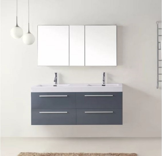 10 Recommended 52 Inch Bathroom Vanity Under 1500 to Buy Now