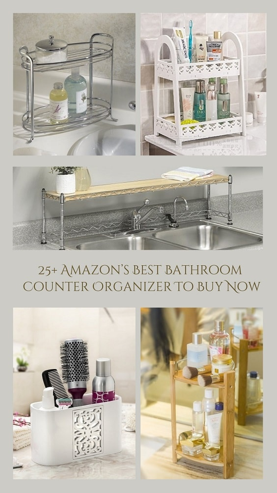 25 Amazons Best Bathroom Counter Organizer To Buy Now