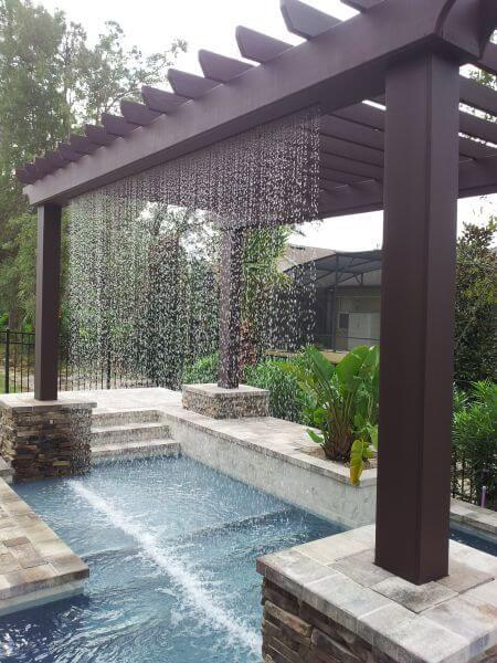 20 Coolest Pergola Pool Inspirations For A Comfortable
