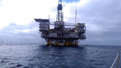Catalina Oil Rig 2013