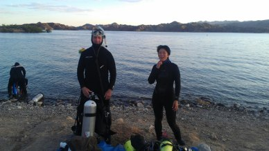 Dive Shack Scuba Diving Bullhead City Arizona Night Dive Class