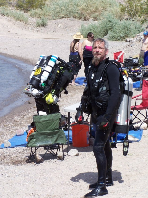 Lake Mohave with Dive Shack USA Ready to dive
