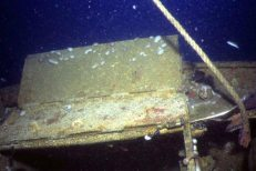 Dutch Submarine K XVII off Tioman