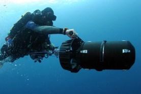 DPV Tec diving