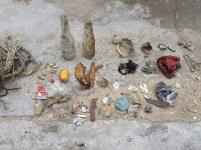 Debris collection on Tioman