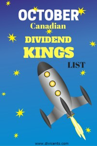 THE BEST CANADIAN DIVIDEND STOCKS FOR OCTOBER 2016