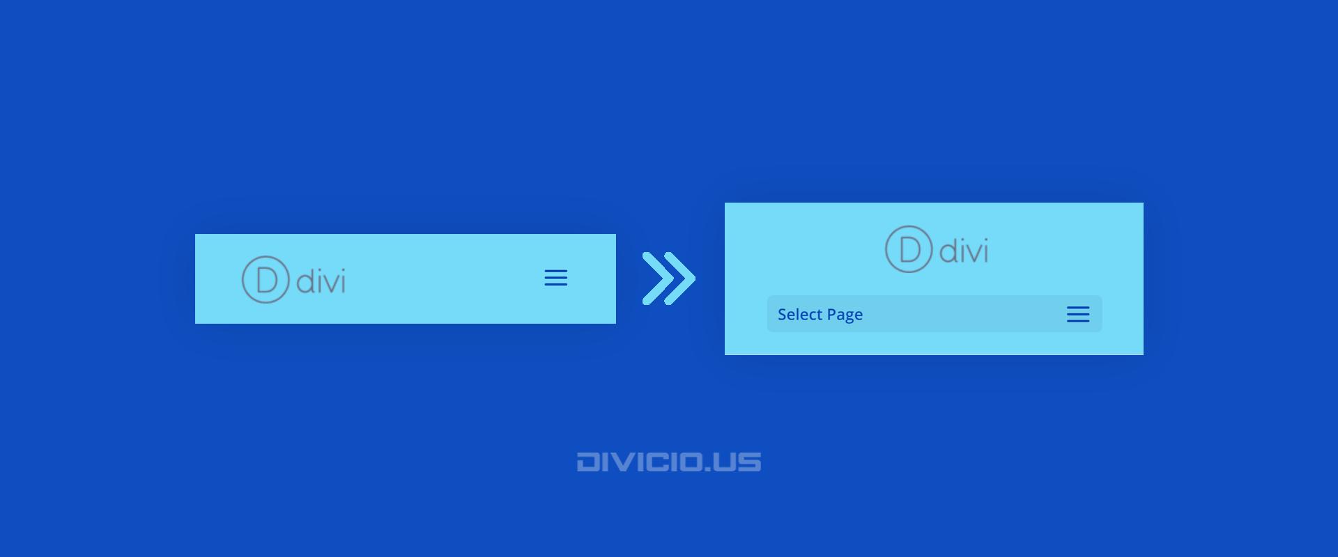 Turn Divi Default Header Into Centered Header On Mobile