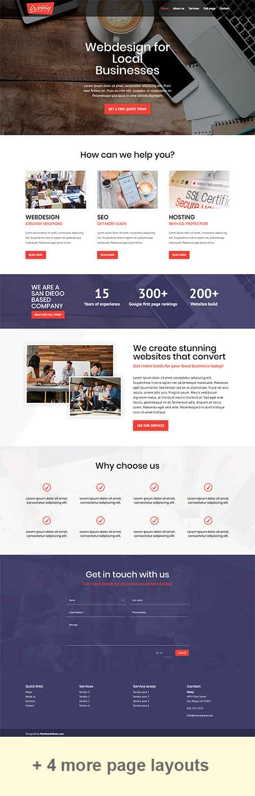 weebly theme free