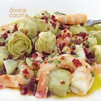 Receta de Alcachofas a la Plancha  Divina Cocina