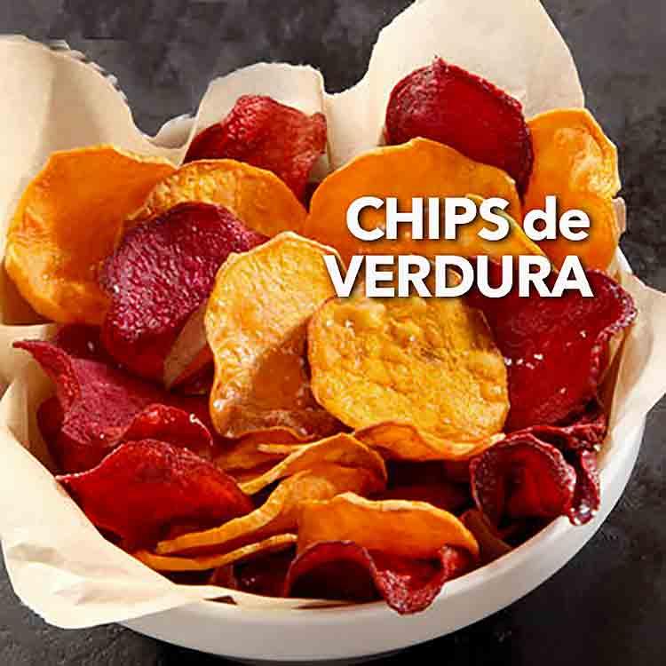 Receta de Chips de verduras caseros  Divina Cocina