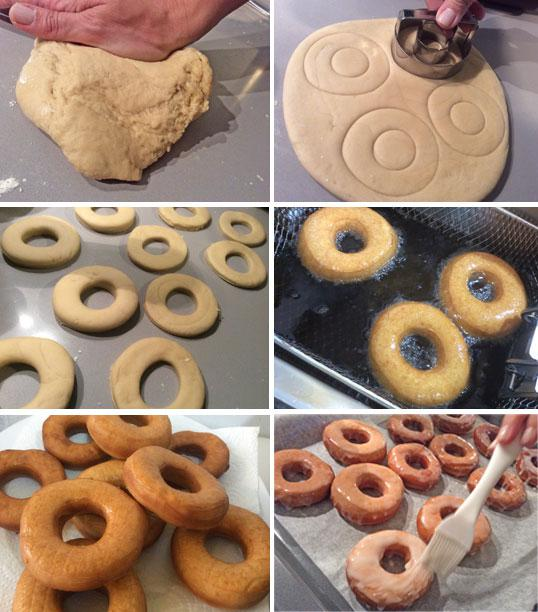 donuts paso a paso Donuts caseros