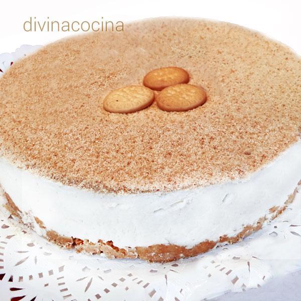Receta de tarta de nata portuguesa  Divina Cocina