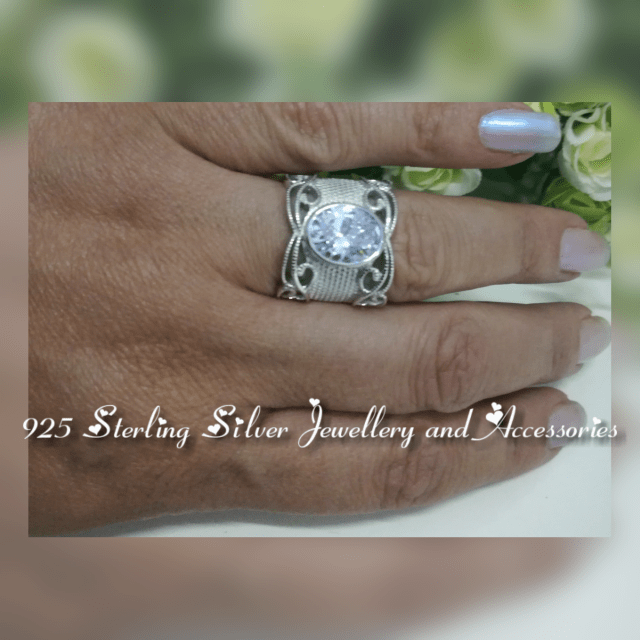 Sterling Silver Ring RR9912