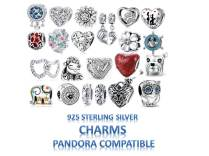 Sterling Silver Charms Pandora Compatible