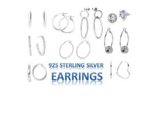 925 Sterling Silver Juwellery and Accessories Earrings