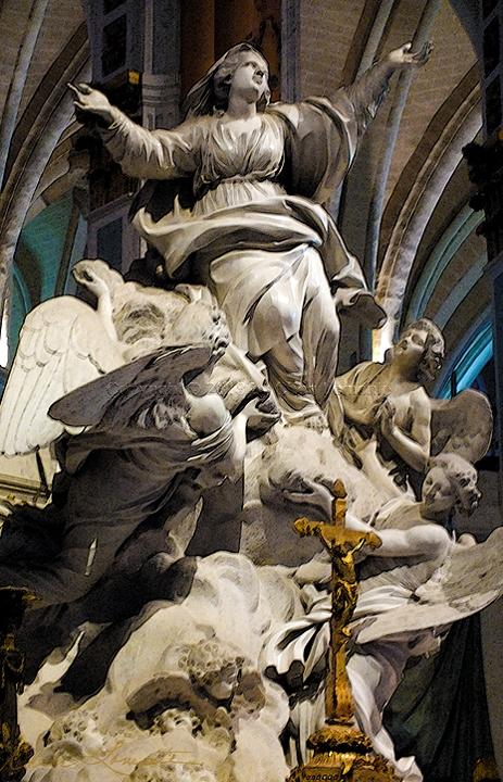 Assumption into Heaven - Sacred Art Photograph by Cheri Lomonte