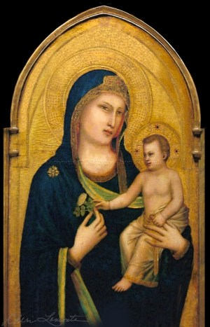 Madonna and Child - Explore Sacred Art - Photograph by Cheri Lomonte