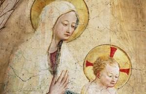 Madre e figlio - Sacred Art Photograph by Cheri Lomonte