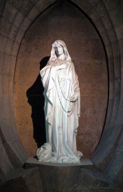 Our Lady of the Rosary - Sacred Art Photograph by Cheri Lomonte