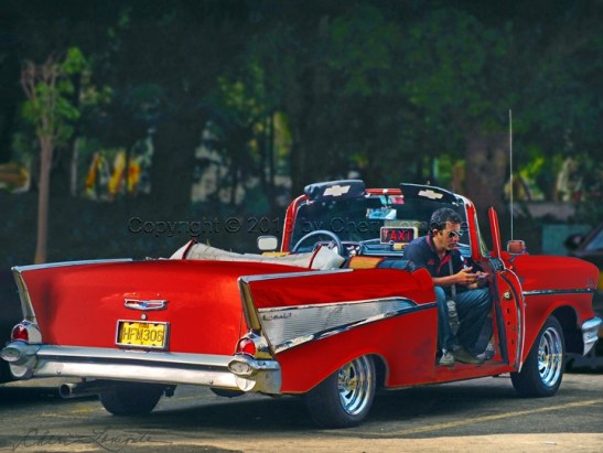 Red Chevy Convertible