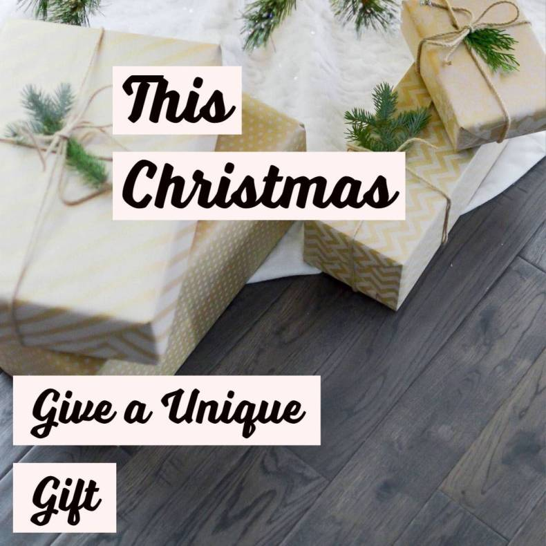 This Christmas Give a Unique Gift