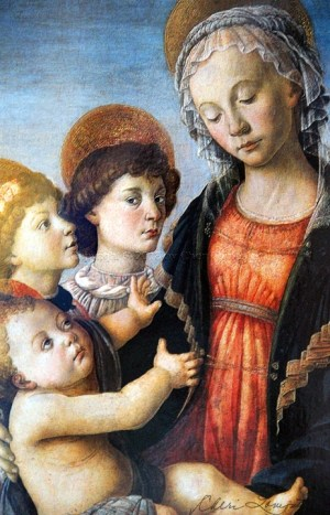 Virgin and Child by Sandro Botticelli - 1468 - Sacred Art Photograph by Cheri Lomonte