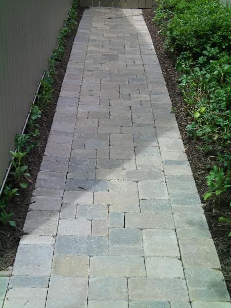 Paver Walkways  Divine Landscaping Inc