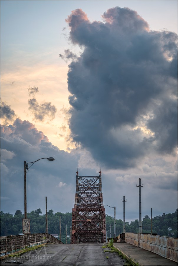 Clouds Over The Old Crossing