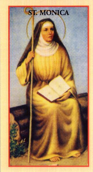 Prayer Cards St Monica