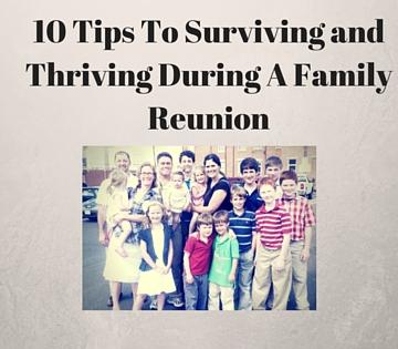 10 Tips To Surviving A Family Reunion As a Catholic MOM!