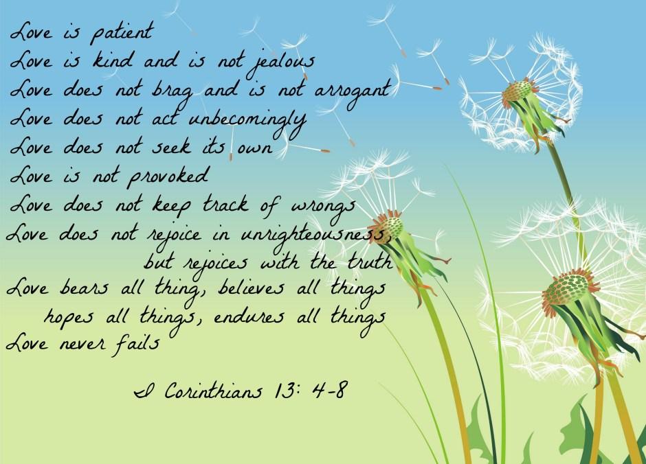 I Cor. 13