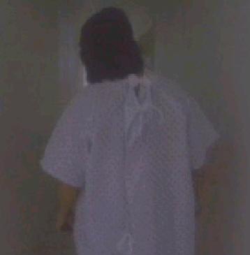 walking in hall
