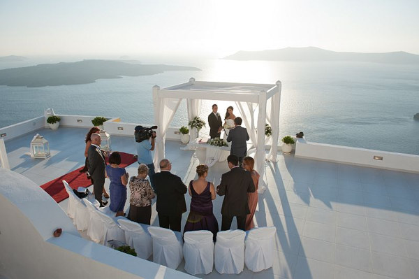 Dana Villas Weddings Santorini Gallery Divine Weddings
