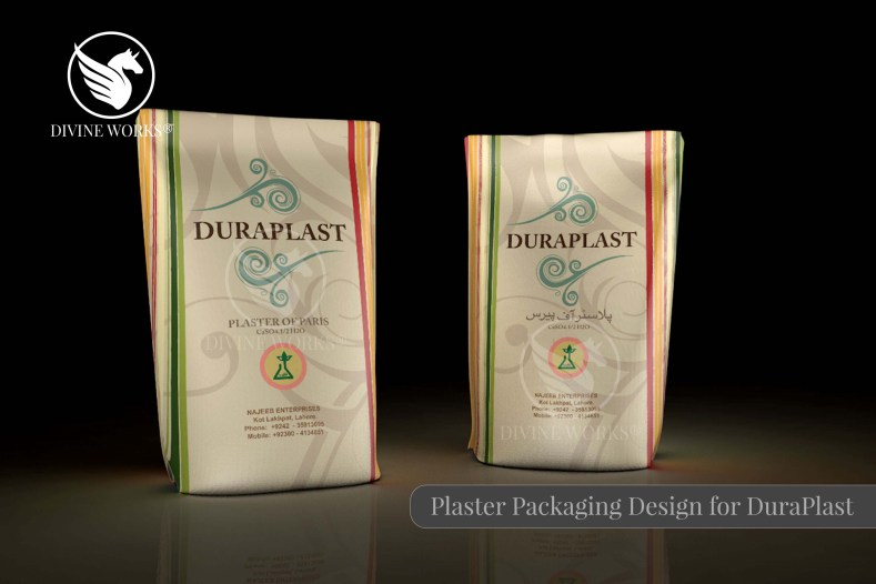 Plaster of Paris Packaging Design By Divine Works