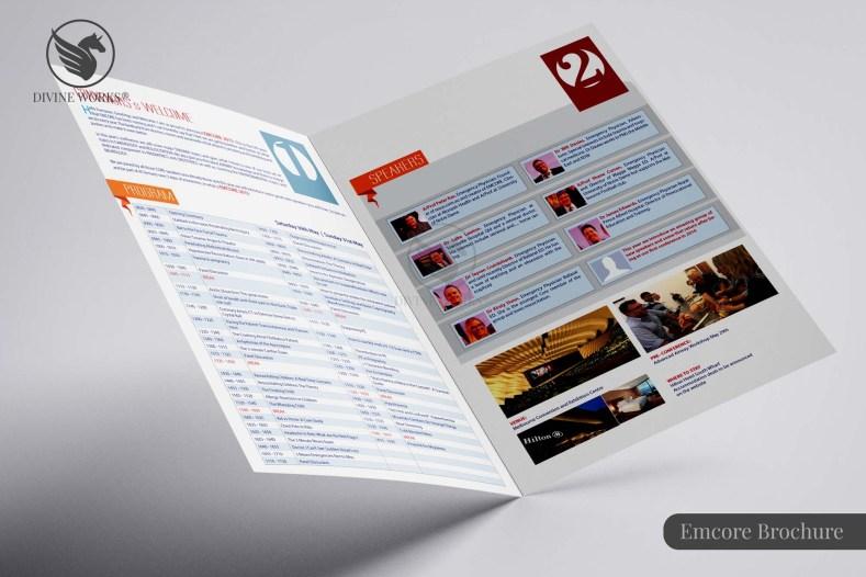 Emcore Brochure Design By Divine Works