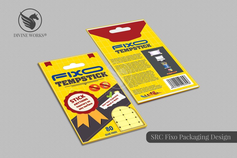 Fixo Adhesive Packaging Design By Divine Works