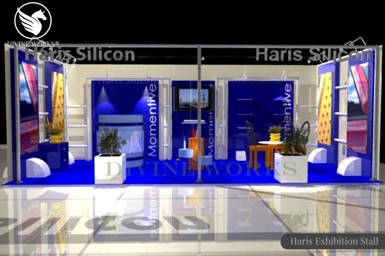 Haris Silicon Exhibition Stall Design By Divine Works