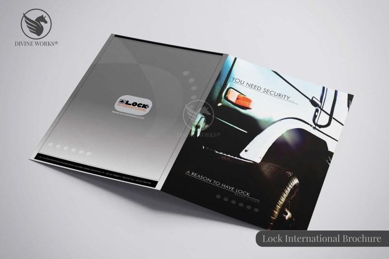 Lock International Brochure Design By Divine Works