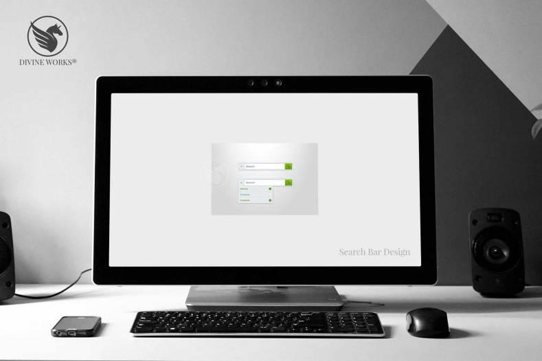Search Bar Design By Divine Works