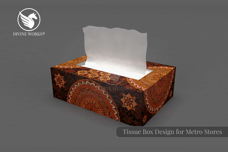 Tissue Box Packaging Design By Divine Works