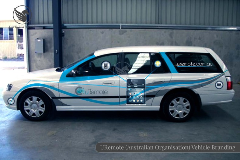 URemote Vehicle Branding Design By Divine Works