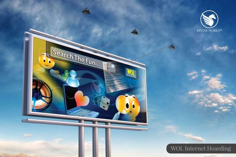 WOL DSL Hoarding Design By Divine Works