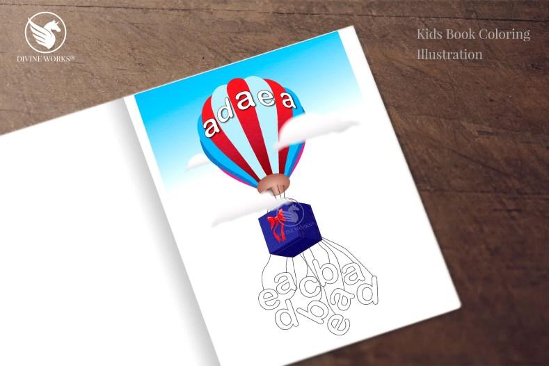 Balloon - digital vector illustration