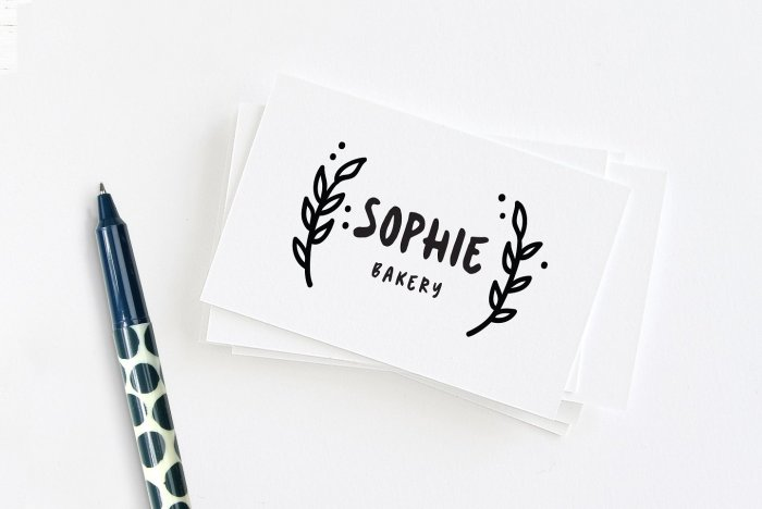 Cute handwritten font Sookie